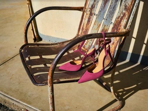 Pink női cipő, Kép: Kazar Daniel, Jaroszek