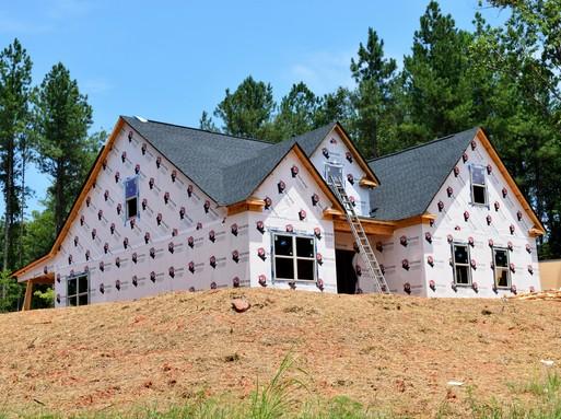 Új ház építése, Kép: publicdomainpictures