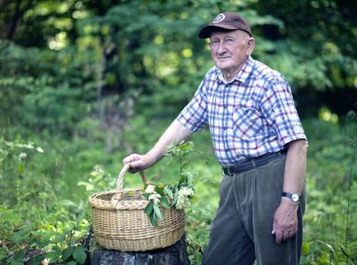 Gyuri bácsi a Bükkben, Kép: gyorgytea.hu