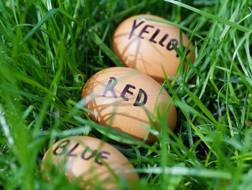 Húsvéti tojások, Kép: pixabay