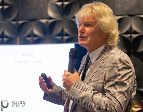 Márkus György pezsgőszakértő, Kép: sajtóanyag