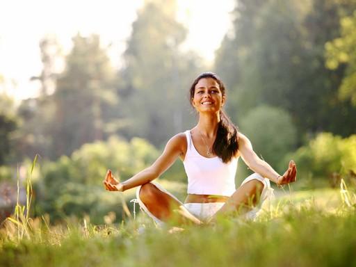 Meditáló lány, Kép: kaviczky