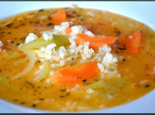 Rizsleves finom zöldségekkel, Kép: Steffel Csaba