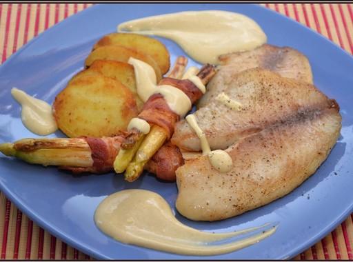 Spárga és hal, Kép: Steffel Csaba