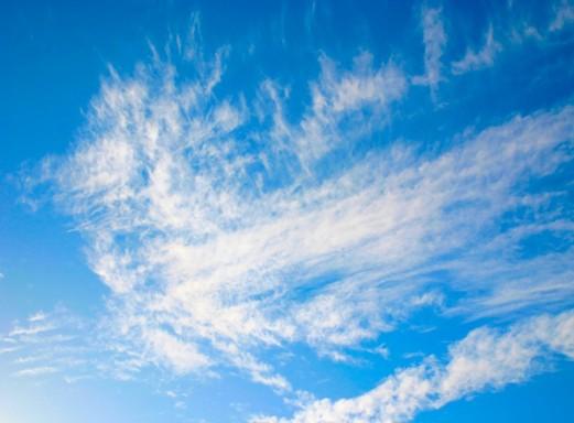 Szeszélyes áprilisi felhők, Kép: pixabay