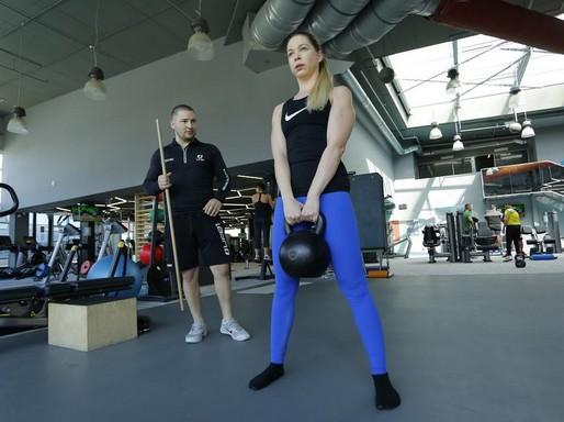 Szomor Dávid súlyemelős edzése, Kép: sajtóanyag