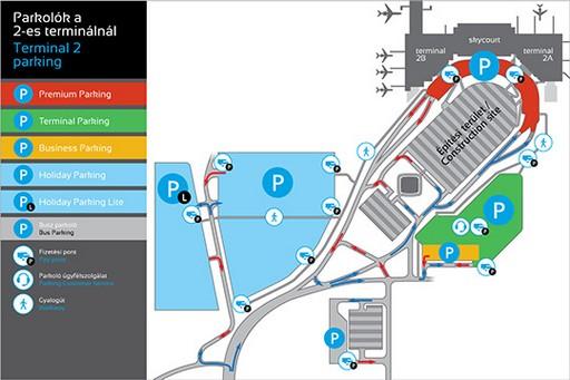 Térképen a parkolók, Kép: sajtóanyag