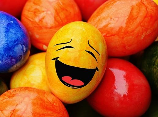 Vicces húsvéti tojás, Kép: pixabay