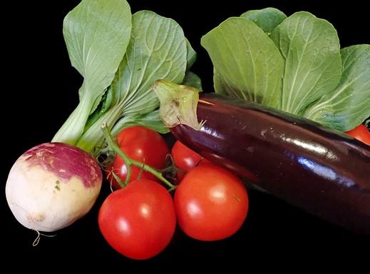 Zöldségek a diétához, Kép: pixnio