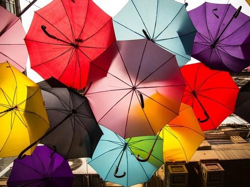 Esernyők, Kép: pixabay