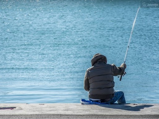 Horgászó ember, semleges, Kép: pxhere