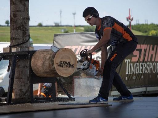 Struber Bence, Kép: stihl