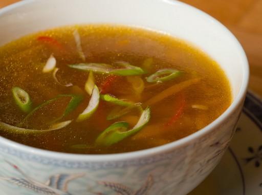 Kínai zöldségleves, Kép: Szeiler Gábor