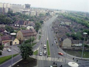 Debrecen, Rakovszky Dániel utca, Kép: wikimedia