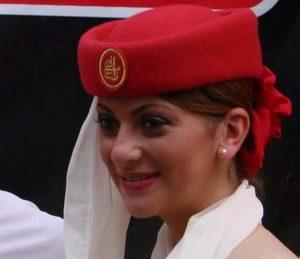Emirates stewardess, részlet, Kép: flickr