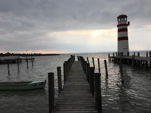 Kikötő a Fertő tónál, Kép: pixabay