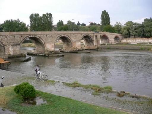 Szkopje, a Balkán Rómája, Kép: wikimedia