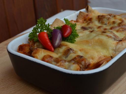 Zöldséges burrito, Kép: Somogyi Zoltán Max