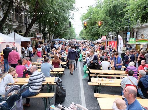 Andrássy út, mint étterem, Kép: Food Truck Show