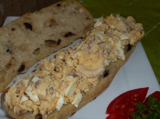 Füstölt makrélás szendvicskrém Kép: Pammer Lívia