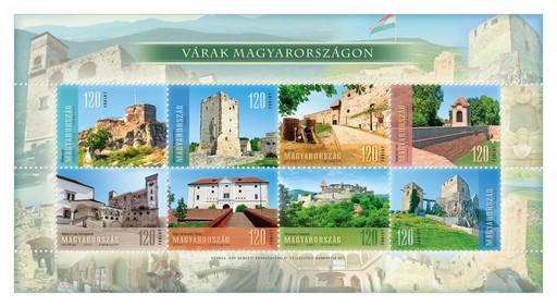 Várak Magyarországon, Kép: Magyar Posta
