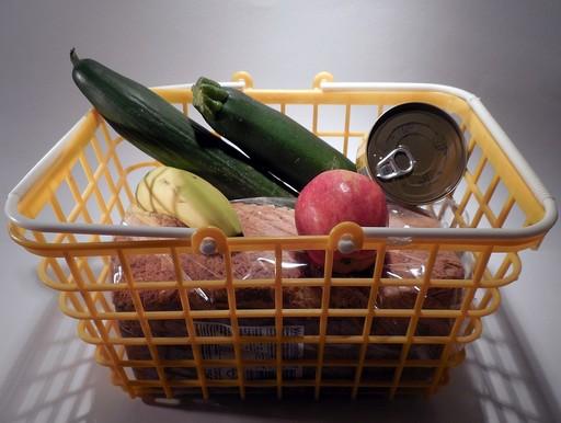 Bevásárlókosár, Kép: pixabay