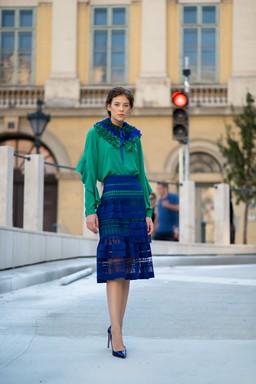 Kék-zöld, 2019, Kép: Vágó Csaba Kornél