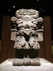 Azték lelet a Mexikói Antropológiai Múzeumból, Kép: Max Pixel