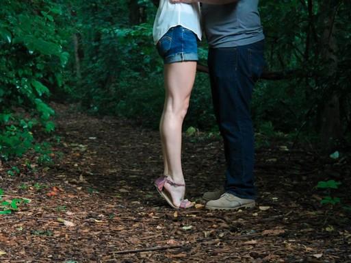 Csók az erdőben, Kép: pome