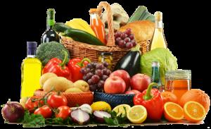 Gyümölcs- és zöldségkosár, Kép: Budai Egészségközpont