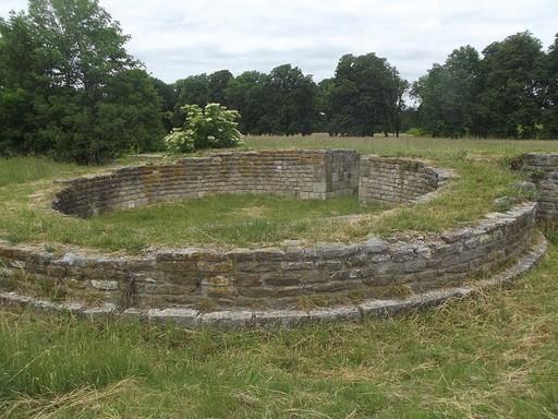 Keszthely,Fenékpuszta (Castellum), épületmaradványok a római korból, Kép: wikipedia
