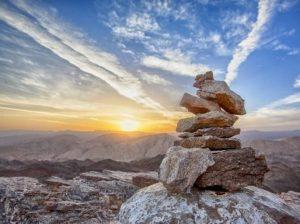Kövek egy sziklán, Kép: pixabay