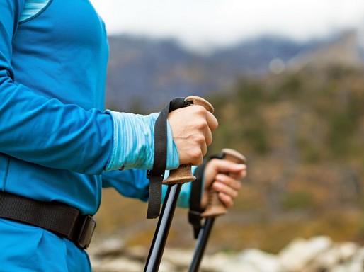 Nordic walking, közeli, Kép: sajtóanyag