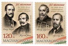 Okt. 6. bélyegek, Kép: Magyar Posta