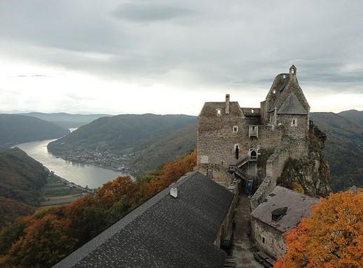Burg Aggstein, Kép: wikimedia