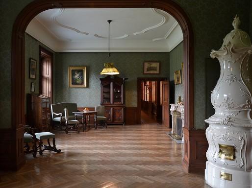 Eckartsau- kastély, dolgozószoba, Kép: wikipedia