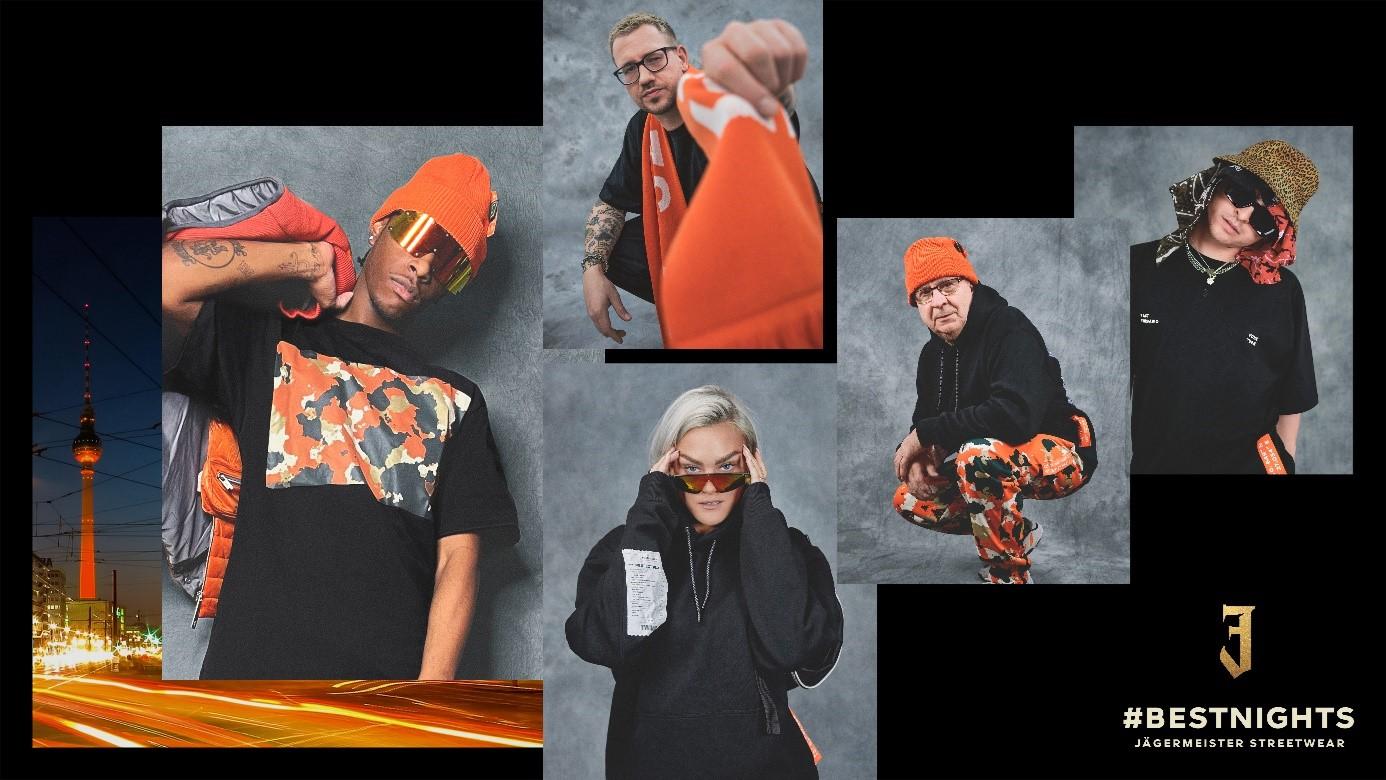 Jön a Jägermeister első nemzetközi ruhakollekciója.